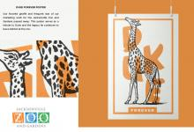 "2020 Jacksonville ADDY Awards — Gold Award ""Duke Forever Poster for Jacksonville Zoo"""
