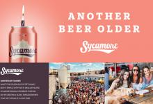 "2020 Jacksonville ADDY Awards — Silver Award ""Anniversary Banner for Sycamore Brewing"""