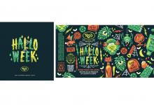 "2020 Jacksonville ADDY Awards — Silver Award ""Halloweek Graphic System for Reve Brewing"""
