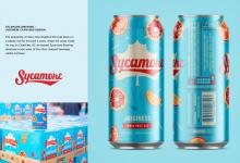 "2020 Jacksonville ADDY Awards — Silver Award ""Juiciness Can & Box Design for Sycamore"""